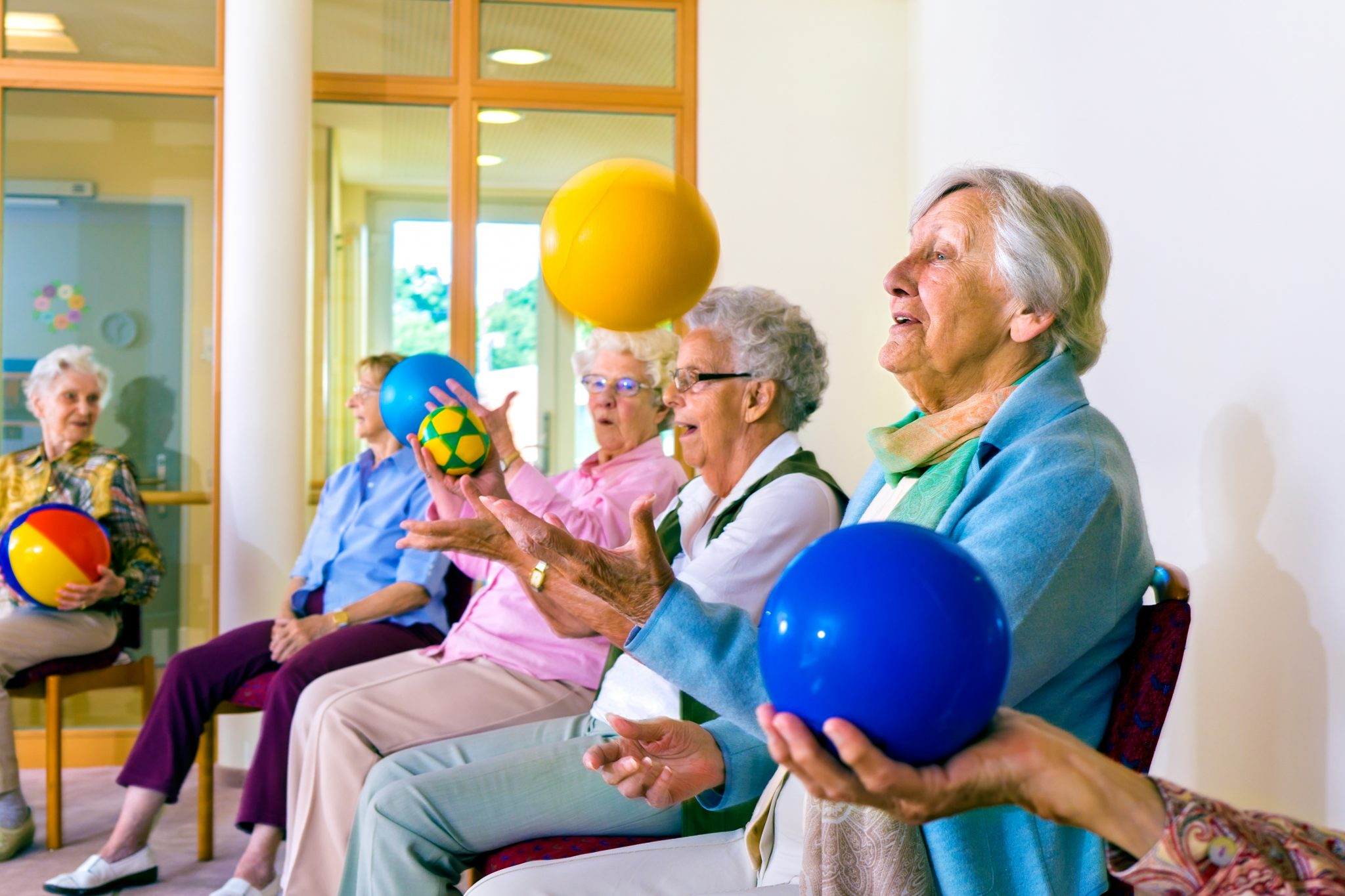 Senior Activities and Exercises for Dementia